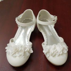 Precious SmartFit White Dress Shoes Toddler